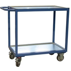 FIMM 880010434 - Chariot établi mobile 250 kg 2 plateaux  850x500mm