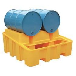Support de soutirage pour 2 fûts de 220 L JONESCO en polyéthylène NEUF déclassé