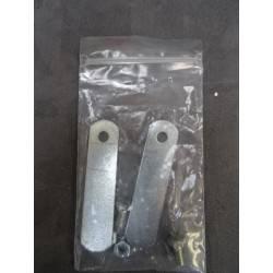 Coffre fort à poser à clé avec 2 penes SCMR NEUF déclassé