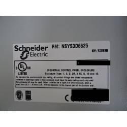 Armoire électrique 500 x 600 SCHNEIDER spacial S3D NEUVE déclassée