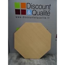 Plateau de table octogonal  pour collectivité WESCO NEUF déclasé