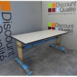 Table scolaire T6 160 x 80 cm WESCO NEUVE déclassée