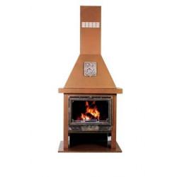 Poêle à bois cheminée 12 kW FRANCO BELGE Flamboy NEUF