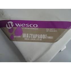 Lot de 4 matelas WATERPROOF  small 100x50 WESCO NEUF déclassé