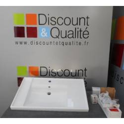 Evier de salle de bain 80 x 45 cm COSMIC NEUF déclassé