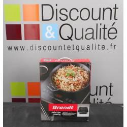 Table de cuisson 1 foyer à induction 2000w BRANDT TI2010S NEUVE déclassée