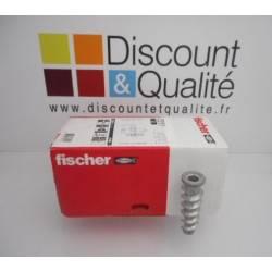 Carton de 25 chevilles à visser béton cellulaire turbo FTP M10FISCHER Art. 078417 NEUF déclassé