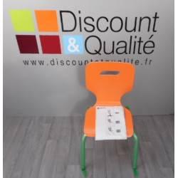 Lot de 4 chaises T5 WESCO NEUF Déclassé