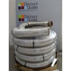 30 m de tuyau flexible double peau en inox  polylisse diamètre 200 MODINOX NEUF déclassé