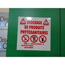 Armoire phytosaniaire 300 L  195 x 95 cm AXE AMENAGEMENT Excela NEUVE déclassée
