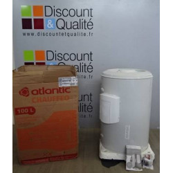 Chauffe eau electrique blinde horizontal 100 Litres ATLANTIC Chauffeo 023110 NEUF declasse