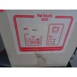 Coffre de sécurité à poser avec serrure à combinaison électronique FRANTECH FSE3 NEUF