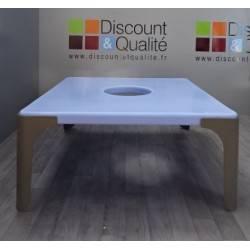 Table d'activités carré pour enfant  104 x 104 cm WESCO Lou NEUVE déclassée