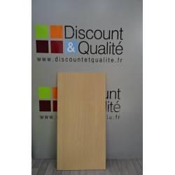 Plateau de table rectangulaire  120 X 60 cm  NEUF déclassé