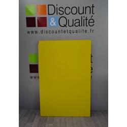 Plateau de table jaune rectangulaire  120 X 80 cm WESCO NEUF déclassé