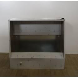 Structure de hotte profesionnelle  en inox 100 x 90 cm   FRANCE AIR Deox 250 CHA NEUVE déclassée