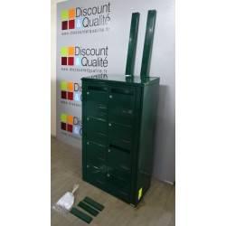 Bloc de 8 boites aux lettres  collectives  extérieur sur pied LEABOX NEUF déclassé