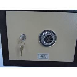 ... Coffre Fort à Code Secret 27 X 27 Cm BTV LASER 911 NEUF ...