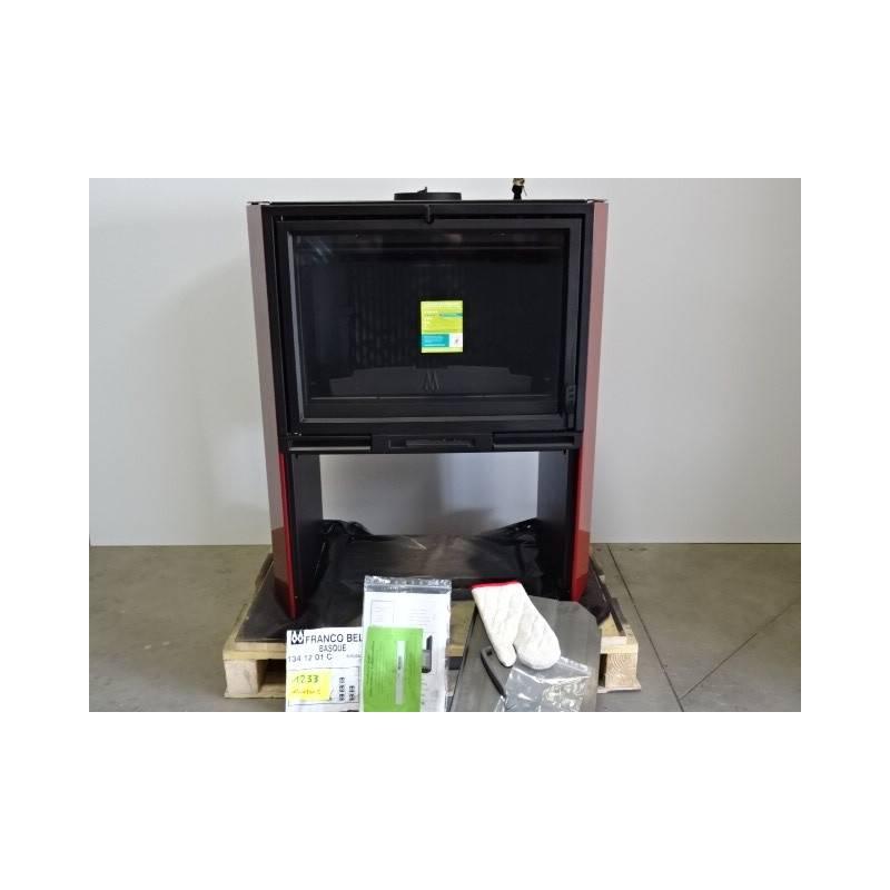 poele a bois 10 kw buches 50 cm bordeaux franco belge basque 1341201c neuf. Black Bedroom Furniture Sets. Home Design Ideas