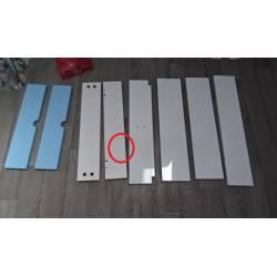 Table basse blanche avec 1 tiroir et 1 niche DEMEYRE Domino NEUVE déclassée