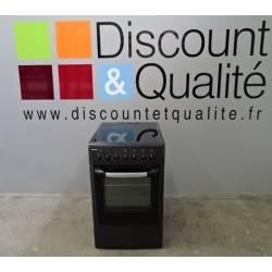 Cuisinière vitrocéramique compacte noir BEKO CS58103C d'OCCASION