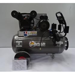 Compresseur bicylindre 100 litres 3 cv  SCAR NEUF déclassé