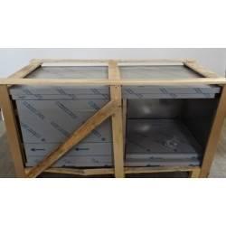 Meuble bas  inox avec portes coulissantes 1600 x 700 mm GAFIC  NEUF déclassé