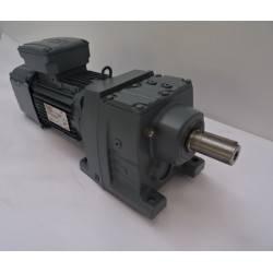 Motoréducteur à engrenage cylindrique  triphasé  4 pôles 0.75 kW SEW DRN80M4 NEUF