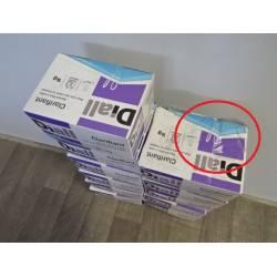 Boîte de 8 cartouches de clarifiant pisicine spécial filtre à sable DIALL NEUVE déclassée