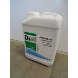 Bidon de 3 L d'anti algues non moussant DIALL NEUF déclassé