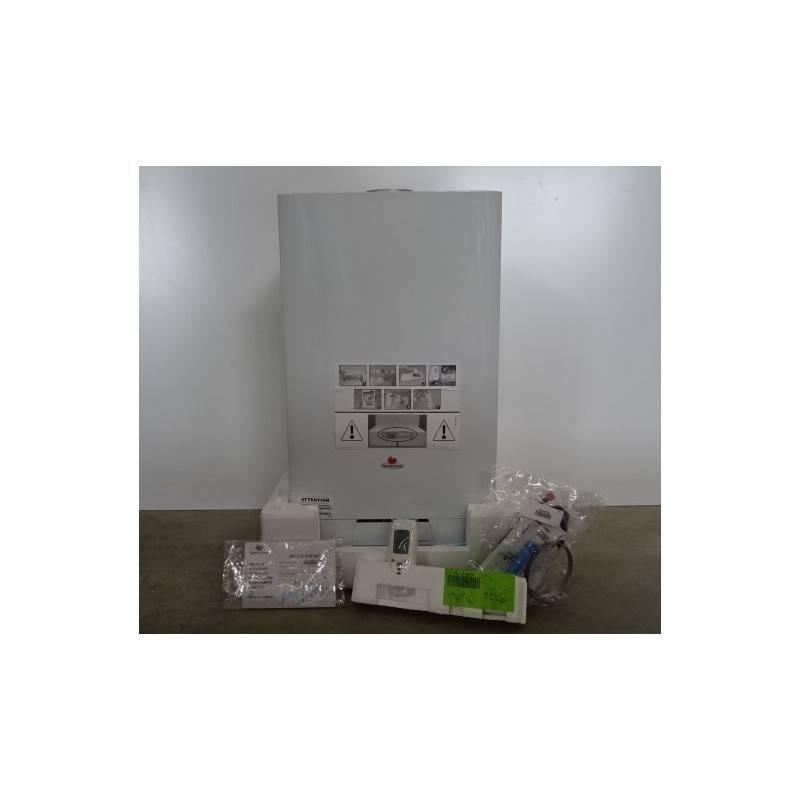 chaudi re murale gaz avec production d 39 eau chaude 35 kw saunier duval lc22tn00 isosplit c35. Black Bedroom Furniture Sets. Home Design Ideas