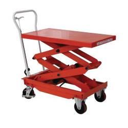 Table elevatrice mobile 300 kg A240340 NEUVE declassee
