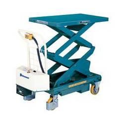 Table elevatrice mobile capacite 500 kg BISHAMON A031812 NEUVE declassee
