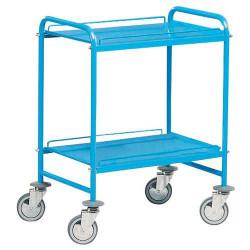 Chariot métal à 2 plateaux charge 150 kg  A 029322 NEUF déclassé