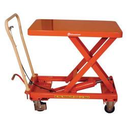 Table élévatrice hydraulique manuelle BISHAMON BX30- Force 300 kg NEUVE