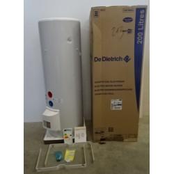 Chauffe eau électrique stéatite ACI 200 litres horizontal triphasé DE...