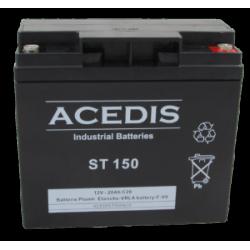 Batterie AGM étanche 12V 20 Ah ACEDIS ST150 NEUVE