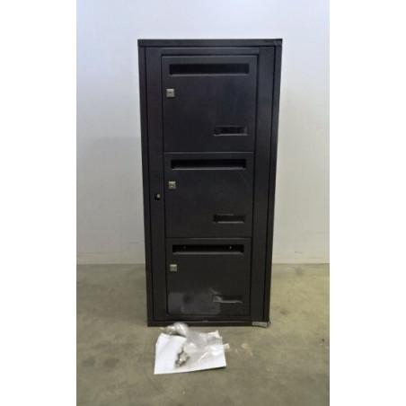 Bloc De 3 Boites Aux Lettres Interieur Leabox Neuf Declasse