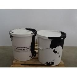 50 kg Peinture - enduit acrylique noir INTERDESCO ACCOSOL MX  pour sol...