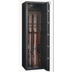 Armoire à fusils 8+8 armes avec coffre intérieur  INFAC SAFE sentinel  NEUVE...