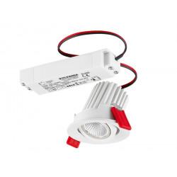 Spot  à encastrer et orientable avec LED intégrée 10 W LUMINANCE 3079451 NEUF