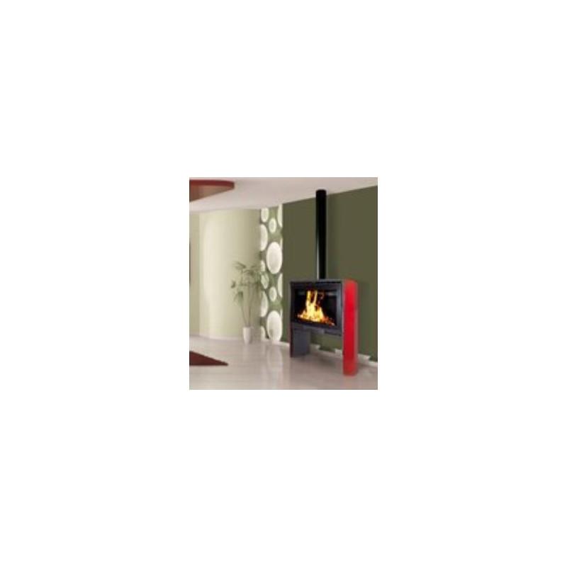 poele a bois 10 kw buches 50 cm bordeaux franco belge. Black Bedroom Furniture Sets. Home Design Ideas