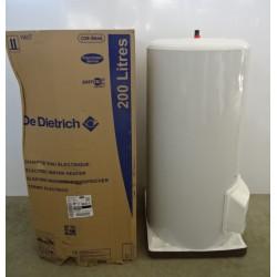 Chauffe eau électrique stéatite ACI 200 Litres sur socle DE DIETRICH NEUF...