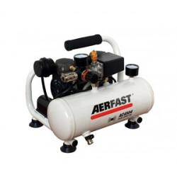 Compresseur d'air portatif avec ses accessoires 4 L 0.24 kW AERFAST AC4504...