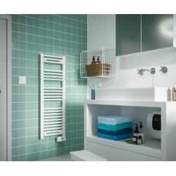 Radiateur sèche serviettes électrique 500 W SAUTER Goreli slim digital 240053...