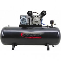 Compresseur à pistons  bicylindre triphasé 500 L 7.5 CV DRAKKAR EQUIPEMENT...