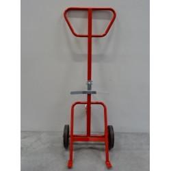 Chariot - Diable  pour fûts 220 Litres Force 350 kg - roue caoutchouc FIMM...