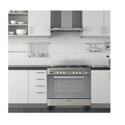 Piano de cuisson à  gaz  5 feux pose libre en inox GLEM GE960 CVIX NEUF déclassé