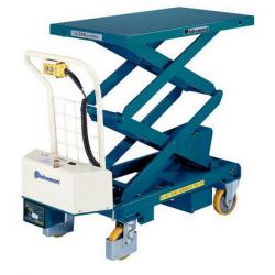 Table elevatrice electrique mobile - capacité 300 kg BISHAMON NEUVE déclassée