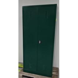Armoire de sûreté avec 2 portes, perforation d'aération et 4 bacs de...